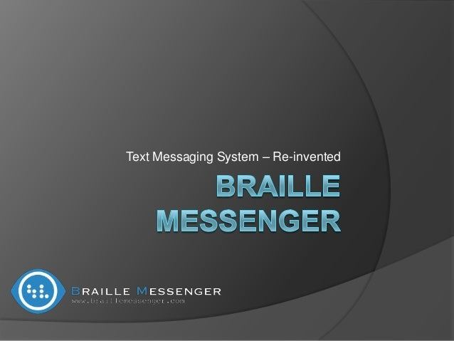 Text Messaging System – Re-invented