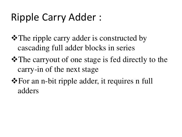full adder equation