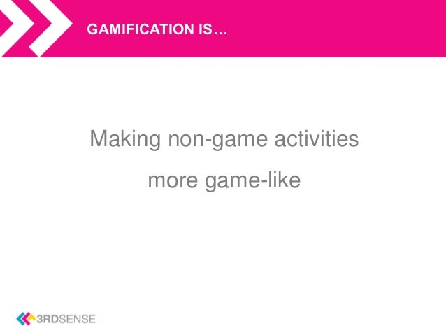 What is Gamification? Slide 2