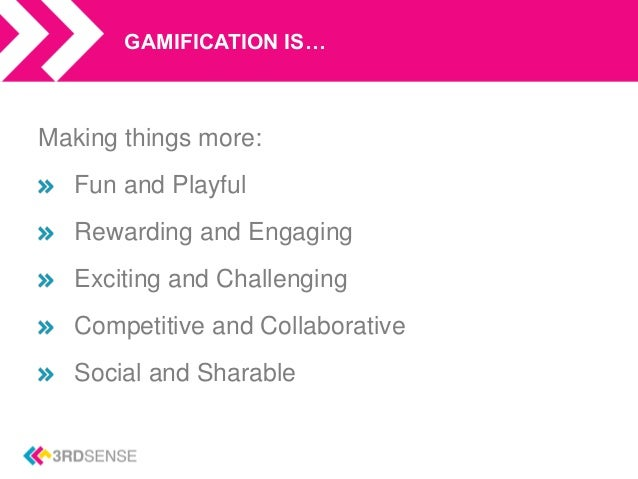 What is Gamification? Slide 3