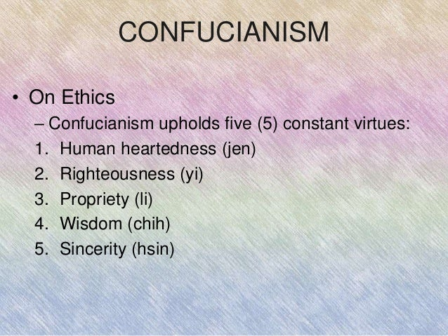 ethical principles of confucius Ethical principles of confucius essays: over 180,000 ethical principles of confucius essays, ethical principles of confucius term papers, ethical principles of.