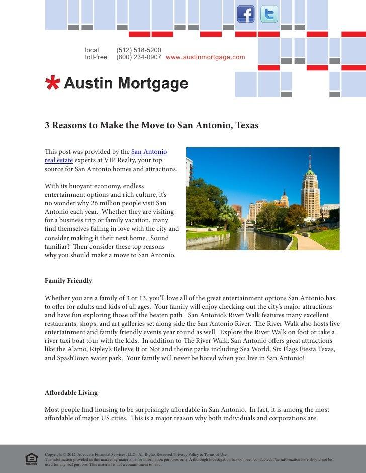 3 reasons to make the move to san antonio texas. Black Bedroom Furniture Sets. Home Design Ideas
