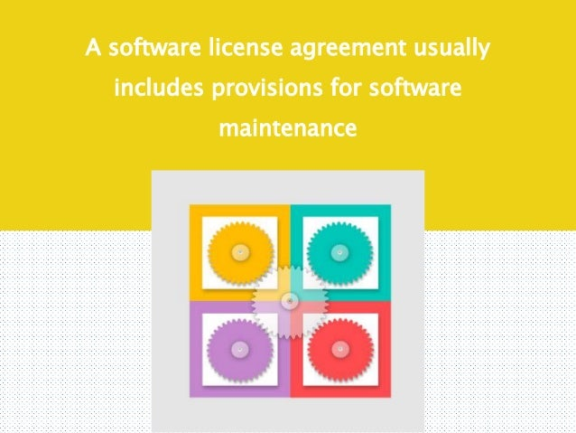 3 reasons to renew your software maintenance agreement 3 reasons to renew your software maintenance agreement 2 a software license platinumwayz