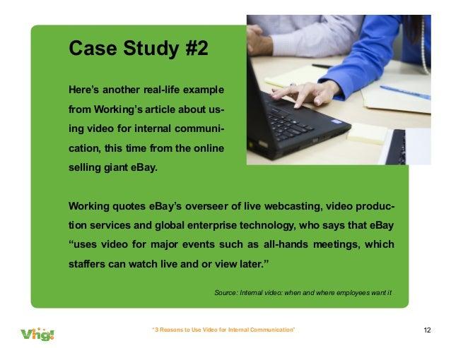 Case Study on Business Communication - SlideShare example