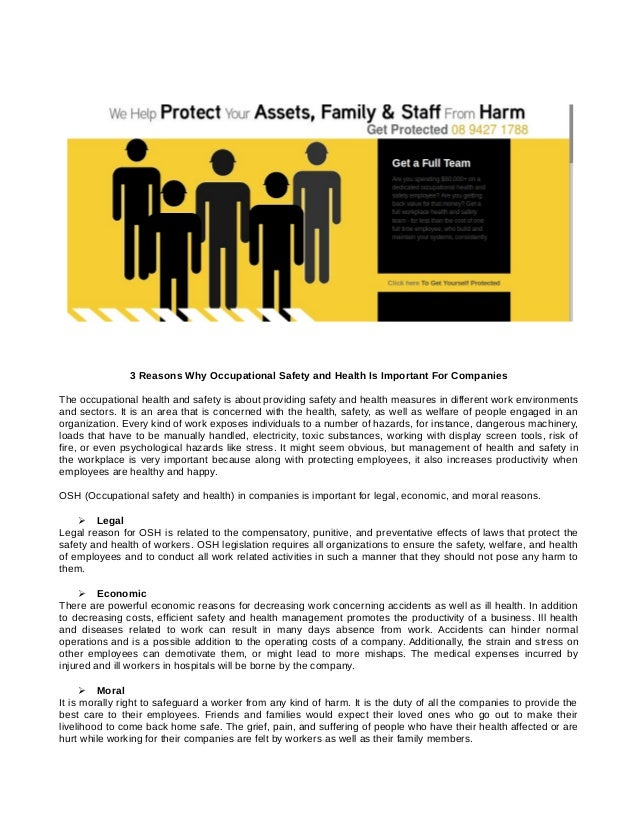 Occupational Health And Safety Of Reckon Ltd Construction Essay