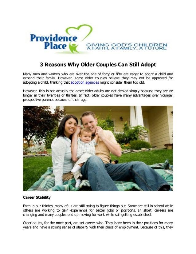 Adoption for older couples
