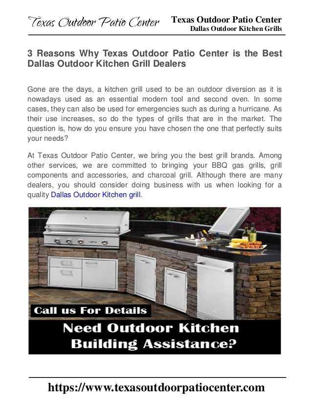 3 Reasons Why Texas Outdoor Patio Center is the Best Dallas ...