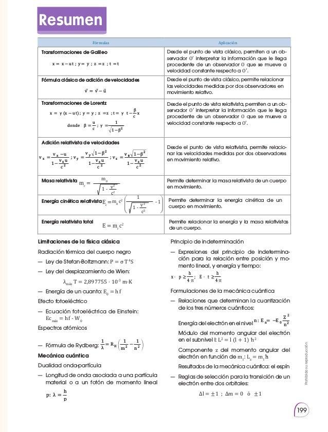 3ro Física Bachillerato