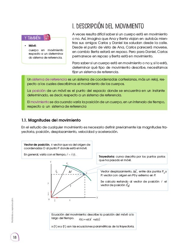 Prohibidasureproducción 18 1. Descripción del movimiento A veces resulta difícil saber si un cuerpo está en movimiento o n...