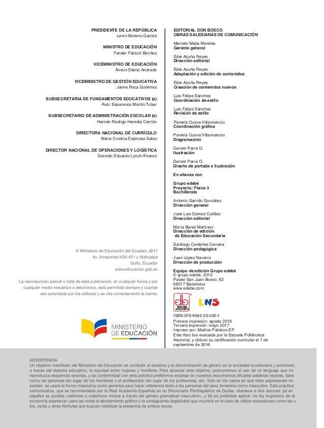 EDITORIAL DON BOSCO OBRAS SALESIANAS DE COMUNICACIÓN Marcelo Mejía Morales Gerente general Eder Acuña Reyes Dirección edit...