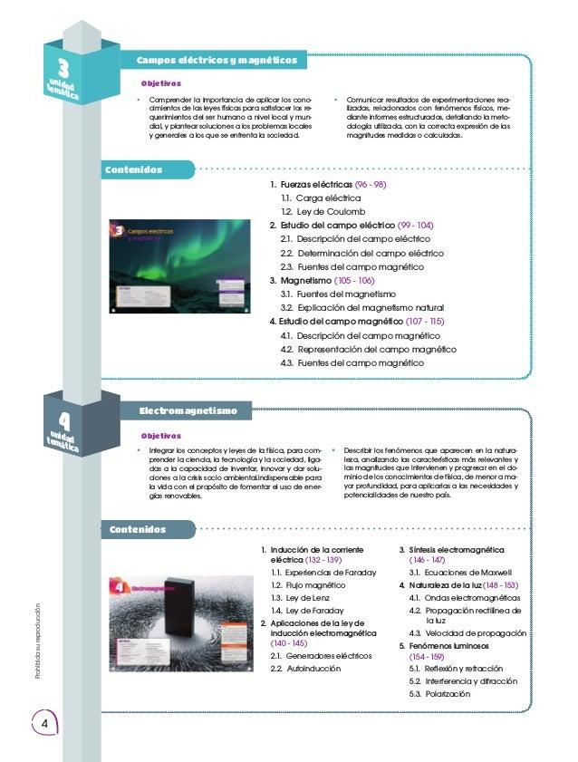 Prohibidasureproducción 4 Prohibidasureproducción  Campos eléctricos y magnéticos Contenidos Contenidos Electromagnetismo...