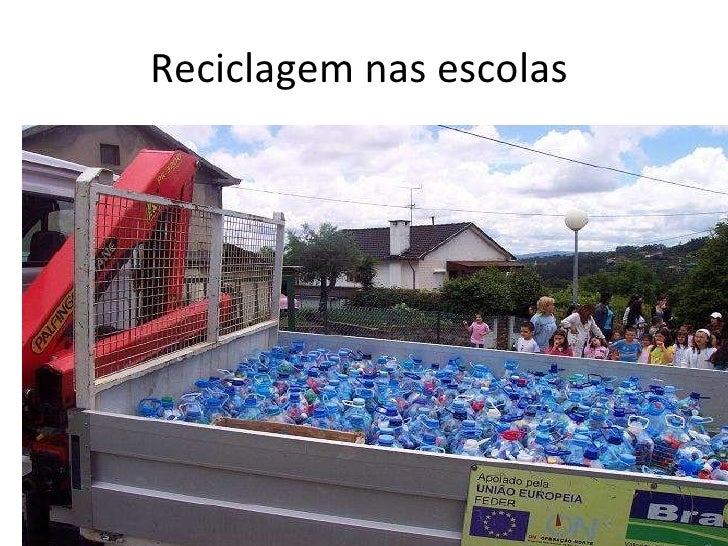 Reciclagem nas escolas