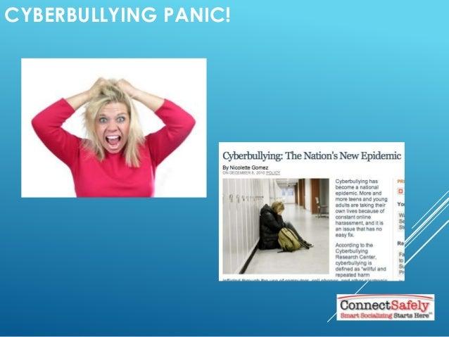 CYBERBULLYING PANIC!