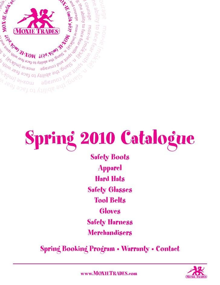Spring 2010 Catalogue                 Safety Boots                    Apparel                  Hard Hats                Sa...