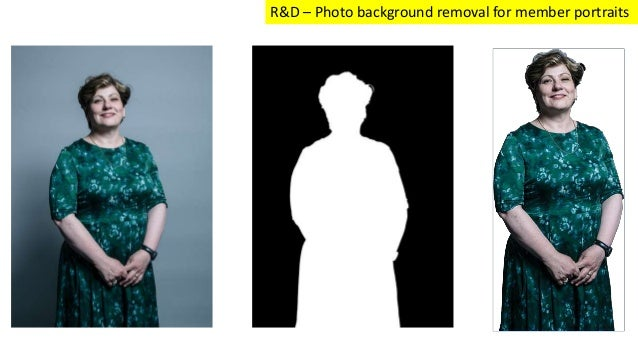 R&D – Photo background removal for member portraits