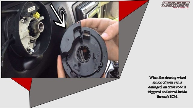 3 Signs Indicating the Damaged Steering Angle Sensor of your Car