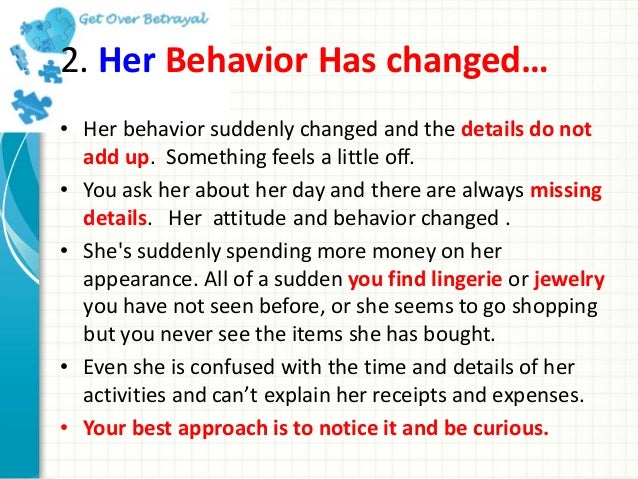 Cheating gf signs