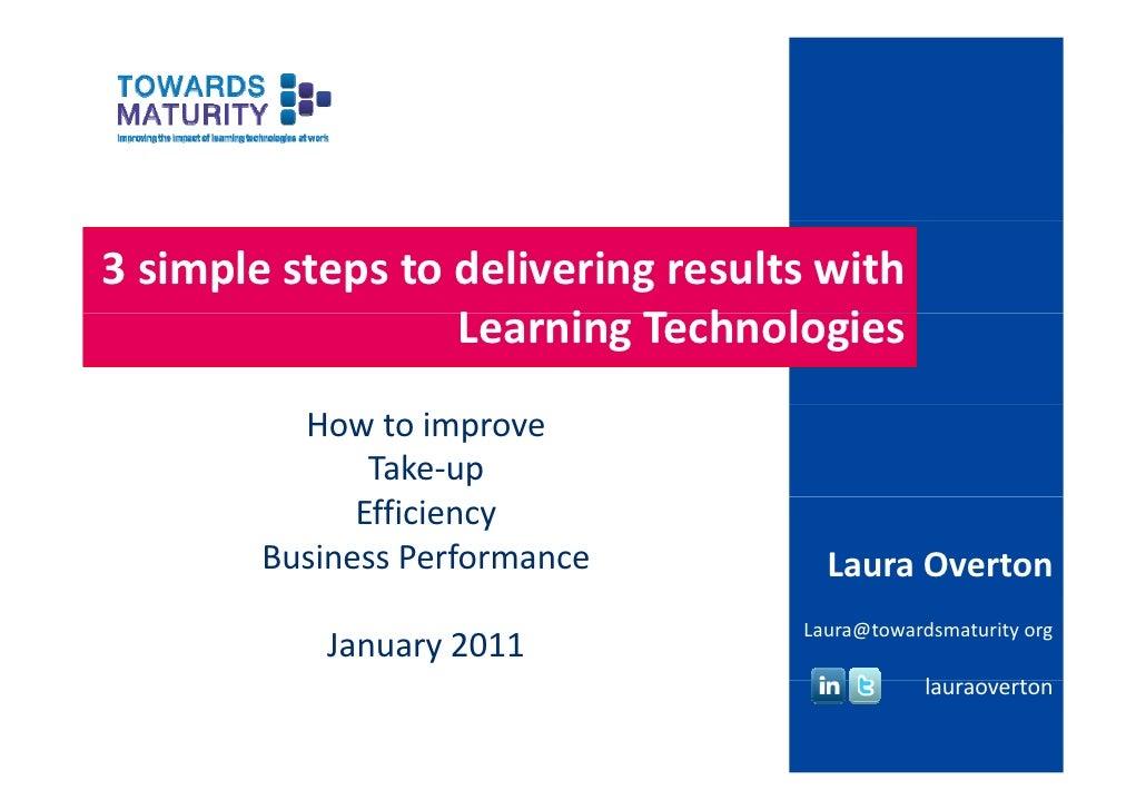 3simplestepstodeliveringresultswith                  LearningTechnologies                  L     i T h l i        ...