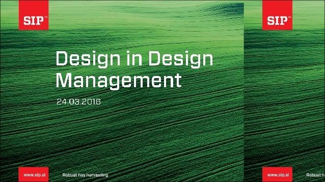 Design management kot generator dodane vrednosti, Drzava za gospodarstvo 24.3.GZS