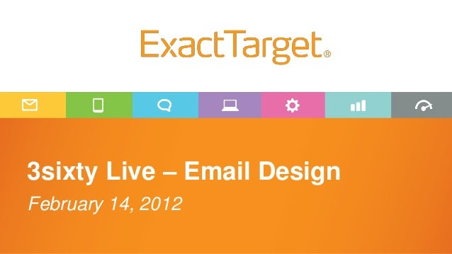 3sixty Live – Email DesignFebruary 14, 2012