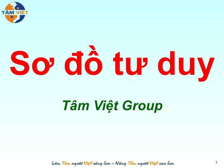 Sơ đồ tư duy   Tâm Việt Group                    1