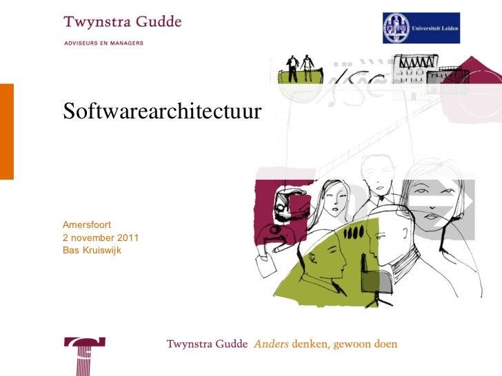 Softwarearchitectuur
