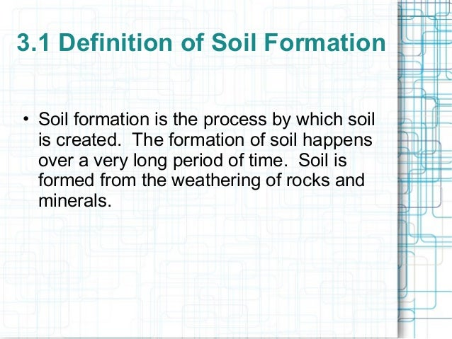 Delightful SOIL FORMATION Department Of Civil U0026 Construction Engineering University Of  Nairobi; 2. 3.1 Definition ...