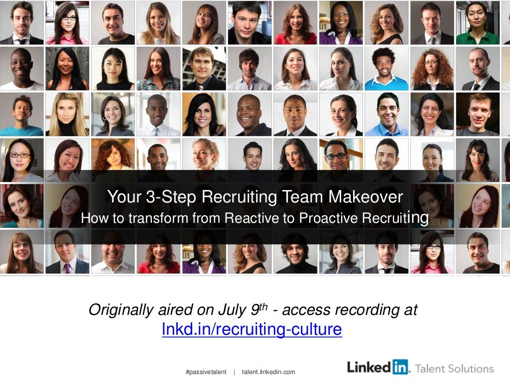 3-Step Recruiting Team Makeover | Webcast