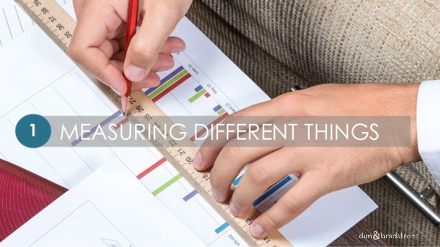 MEASURING DIFFERENT THINGS1
