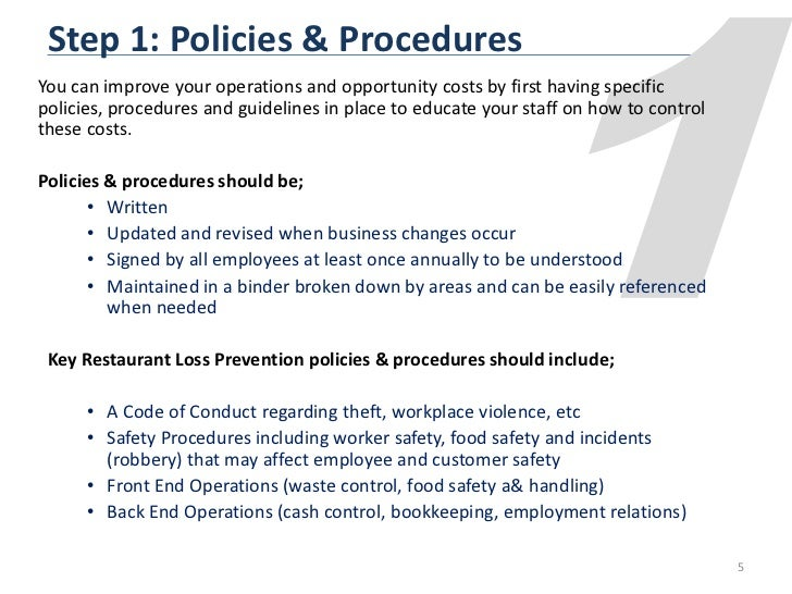 How To Complete Food Safety Program Procedures