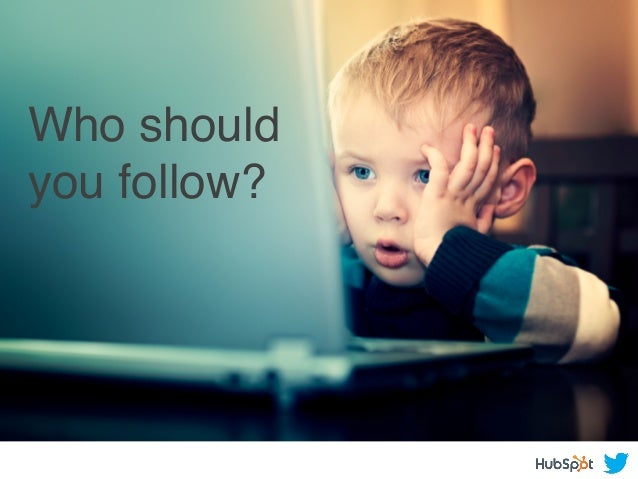 Who should you follow?!