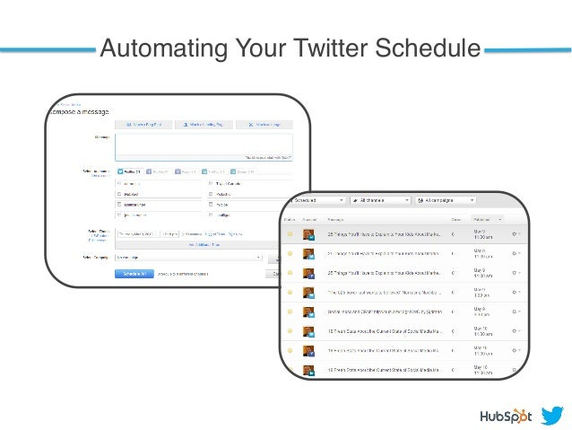 Automating Your Twitter Schedule !