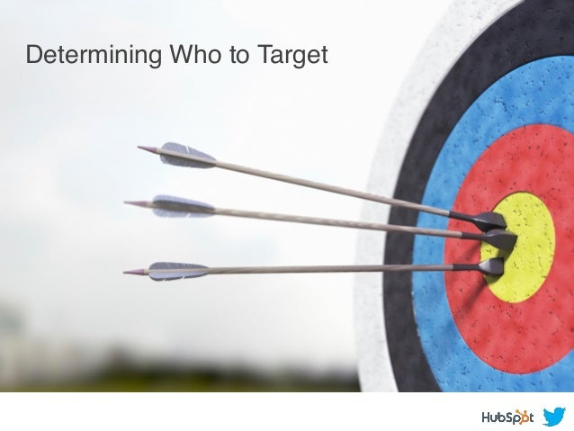 Determining Who to Target !