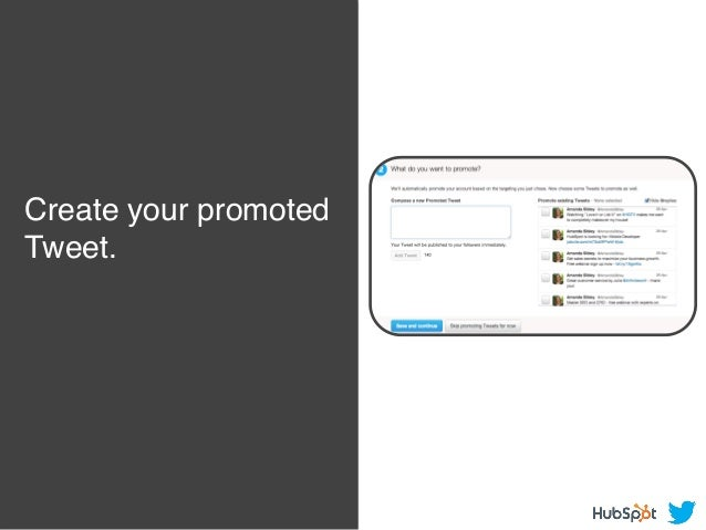 Create your promoted Tweet.!