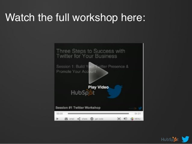 Watch the full workshop here: !