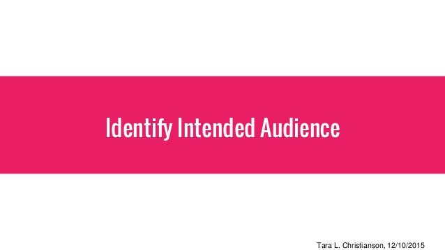 Tips on Knowing Your Target Audience When Communicating Within an Organization