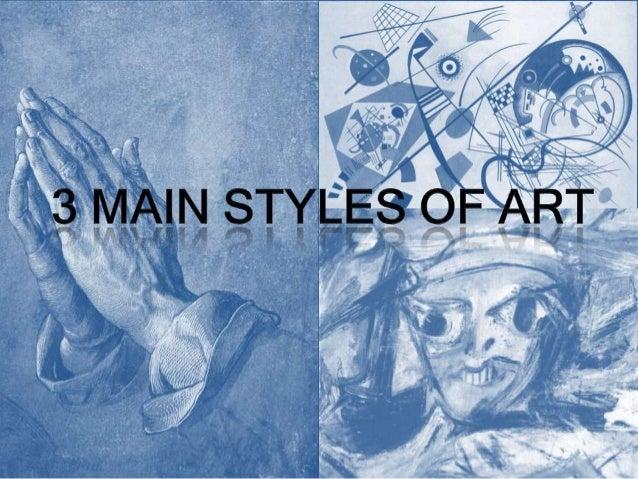 3 styles of art 1