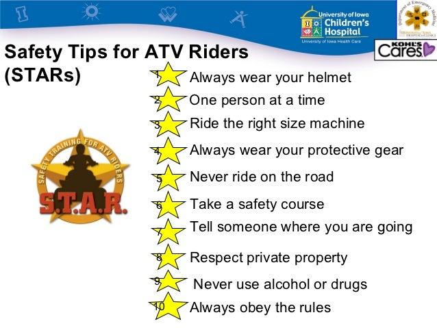 ATV Safety Summit Training The Next Generation STARs