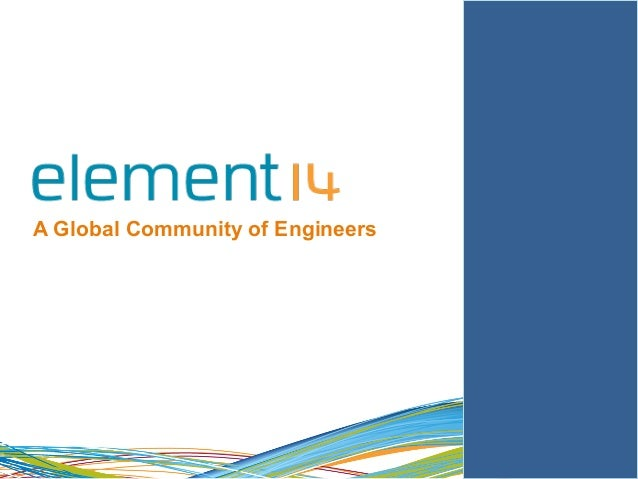 1  A Global Community of Engineers