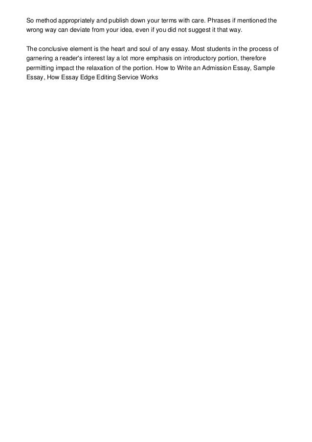 college applications essay examples