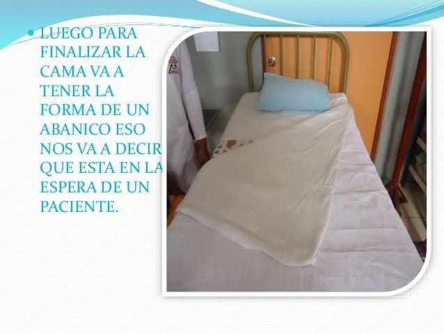 Tipos de tendido de cama iestpch dora s for Cama quirurgica