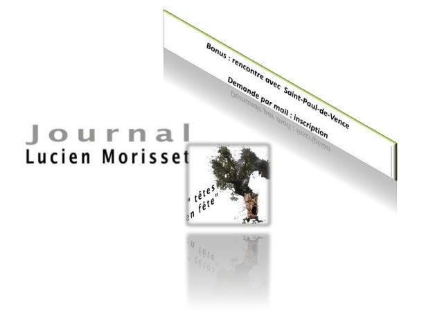 Témoignages pour Lucien Morisset : artistes Saint-Paul-de-Vence