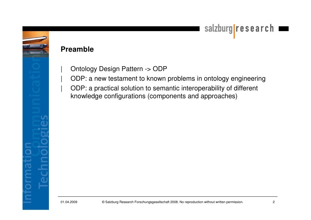 Ontology Engineering With Ontology Design Patterns