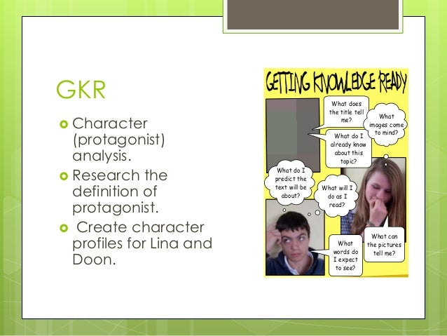 Essay on the city of ember characters