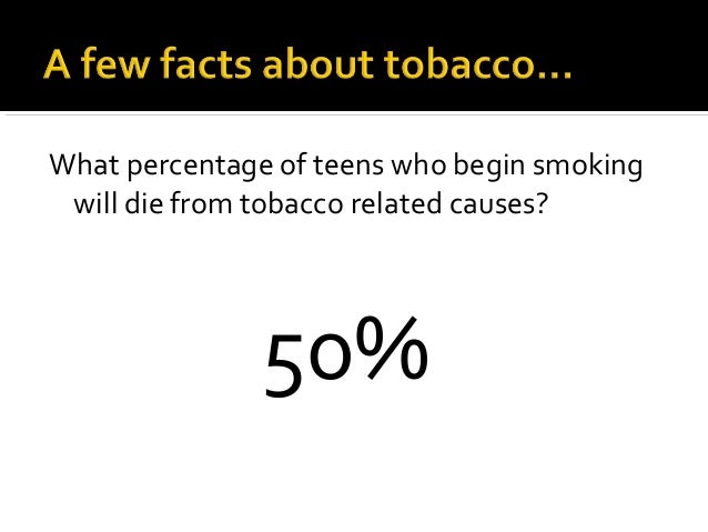 the reasons why teens begin smoking tobacco Children start smoking for a variety of reasons  many kids start using tobacco  by age 11, and many are addicted by age 14  drug abuse: teachable  moments talking to kids and teens about drugs and alcohol topics.