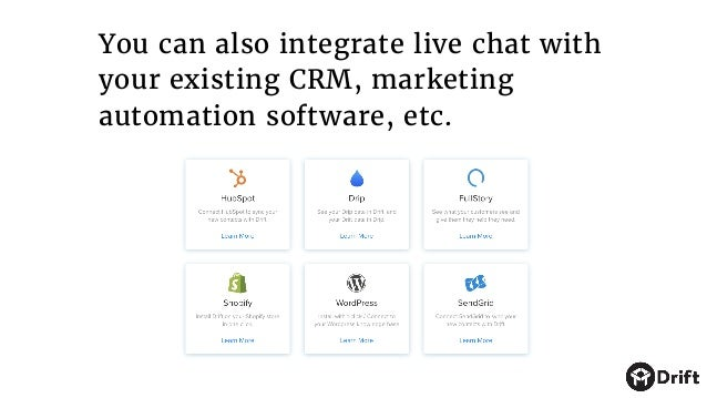 The bottom line: You don't have to change your current setup in order to start using messaging for sales. You can simply p...