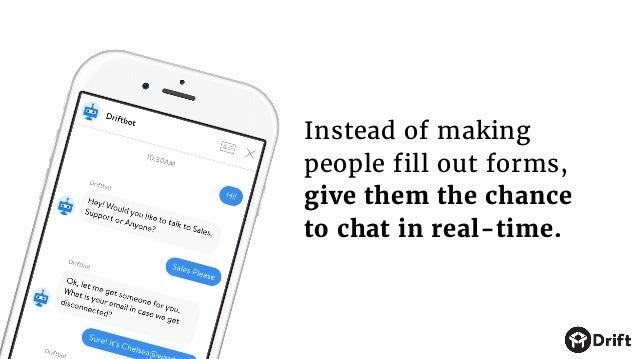With messaging, you can make the sales experience simpler, more enjoyable, and more human.