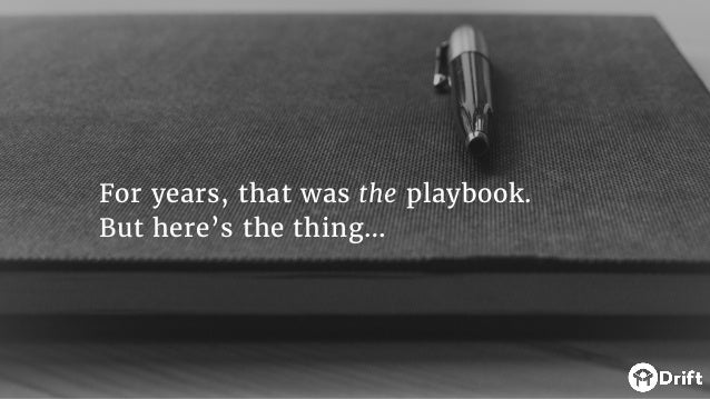 For years, that was the playbook. But here's the thing…