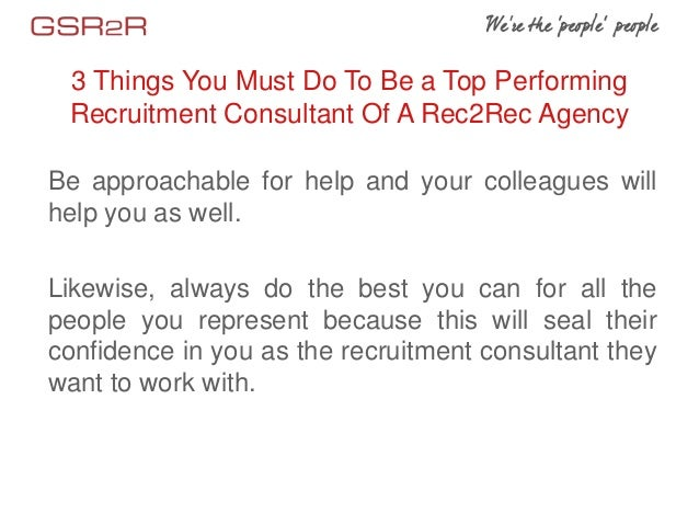 Recruitment Consultant | Profiles, Jobs, Skills, Articles ...