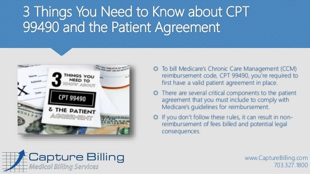 3 things you need to know about cpt 99490 and the patient for 99490